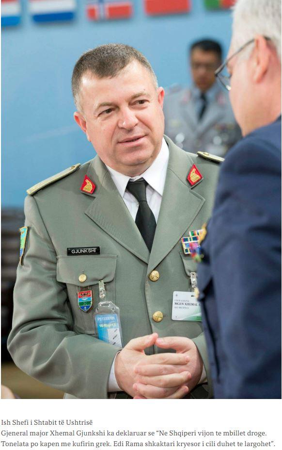 Πρώην αρχηγός στρατού Αλβανίας: Εξαπατά το λαό η Ναρκο-Αστυνομία του Ράμα!