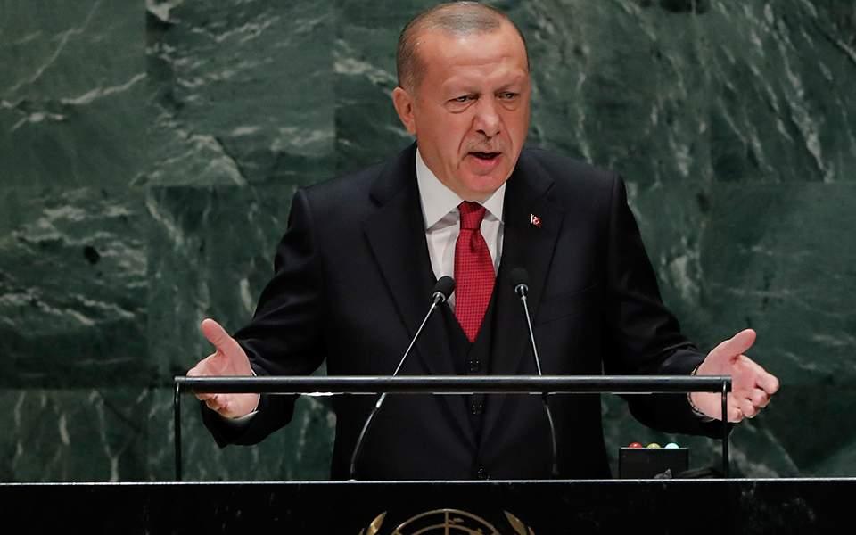 Και ο τρελός στην τρέλα του – Ερντογάν: Η Τουρκία θα προστατεύσει τα νόμιμα δικαιώματά της στην Ανατολική Μεσόγειο