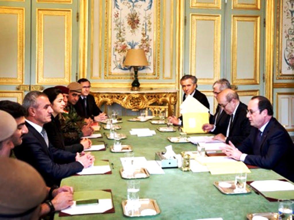 """Τα πάντα για το τι σας κρύβουν για την τουρκική επιχείρηση """"Πηγή Ειρήνης"""" (2/3)  Το Κουρδιστάν, όπως το φαντάζεται η γαλλική αποικιοκρατία"""