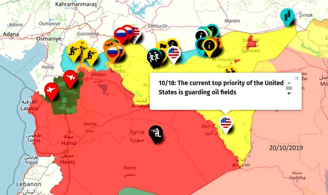 Και το συριακό πετρέλαιο; Θα το άφηνε ο Τραμπ στον Άσαντ;