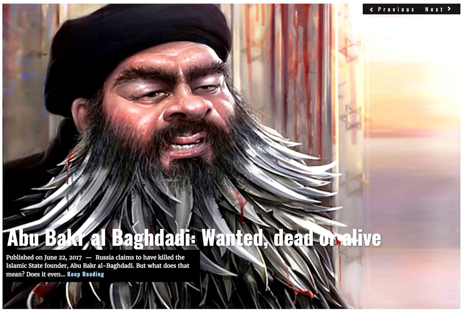 Αλ-Μπαγντάτι, ένα παλιό σκιάχτρο που αλλάζει στην κατάλληλη στιγμή την αφήγηση για την απόσυρση των ΗΠΑ από τη Συρία