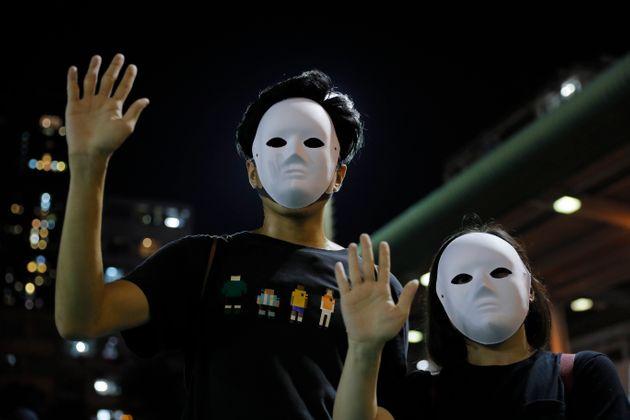 Έτσι εξαπατούν την τεχνολογία αναγνώρισης προσώπου οι διαδηλωτές στο Χονγκ Κονγκ (Βίντεο)