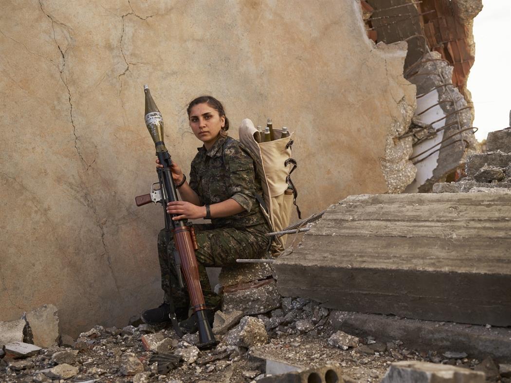 Φωτορεπορτάζ: Οι Κούρδοι που πολέμησαν τον «ISIS» στη Συρία