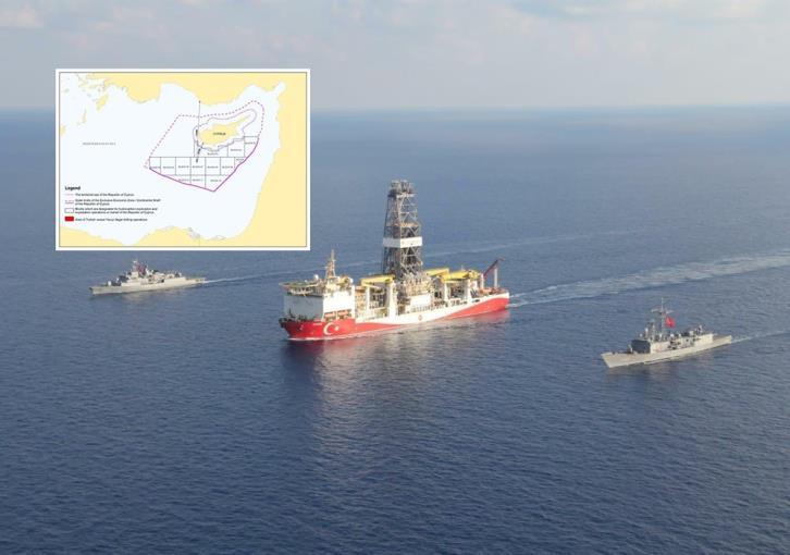 Δείτε ποια είναι η αντίδραση της Προεδρίας της Κυπριακής Δημοκρατίας για εισβολή «Yavuz» στο 7 (χάρτης)