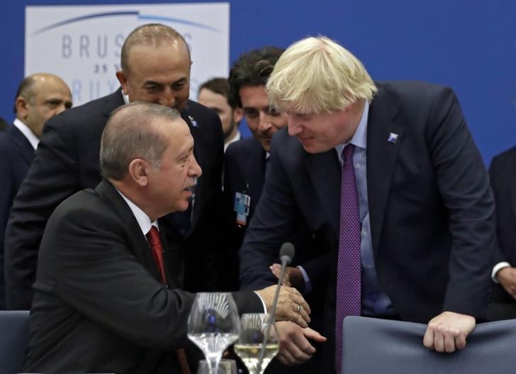 """Η Αγγλία """"δούρειος ίππος"""" της Τουρκίας στην Ε.Ε. – Ο Τζόνσον έδωσε διαβεβαιώσεις στον Ερντογάν ότι δεν θα επιβληθούν κυρώσεις"""
