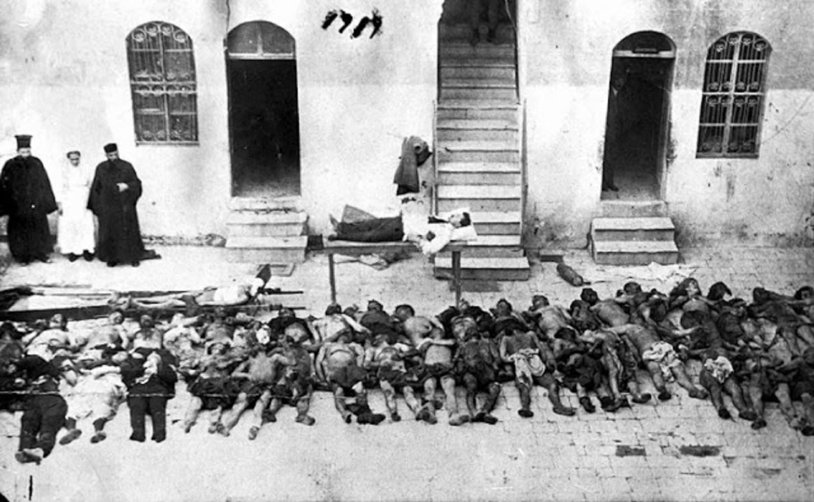 Τοίχος στην Τεχεράνη για γενοκτονίες των Τούρκων: Αρμένιοι, Έλληνες, Κούρδοι…
