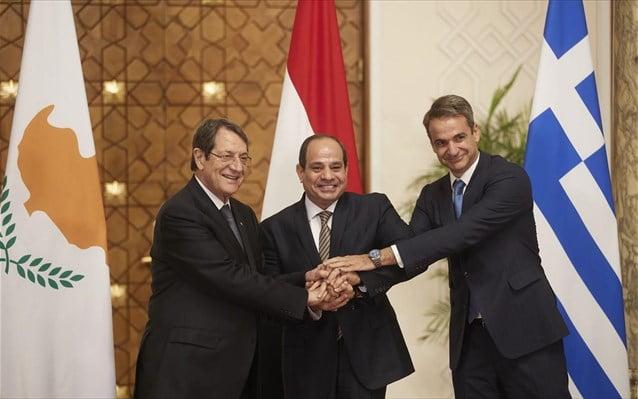 Κ. Μητσοτάκης: Ελλάδα, Κύπρος και Αίγυπτος συγκροτούν ένα τρίγωνο ειρήνης