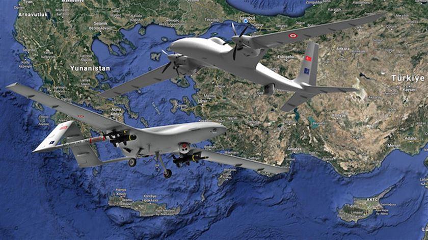 Κοκορεύεται το φερέφωνο του Ερντογάν: Τα τουρκικά drones εμποδίζουν την προσπάθεια της Ελλάδας για ισορροπία στη θάλασσα