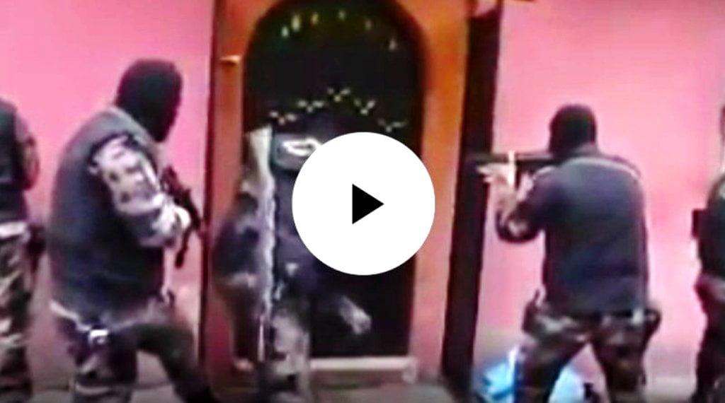 Κοιτάξτε σε τι μοιάζει μια τουρκική αστυνομική επιδρομή σε σπίτι Κούρδου ακτιβιστή