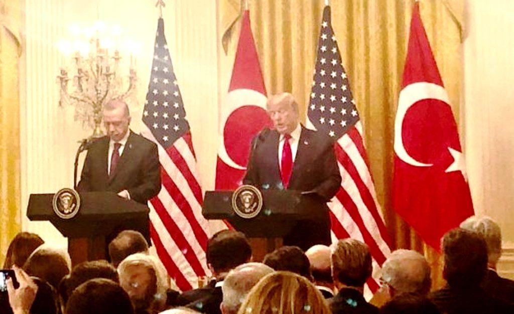 Ντόναλντ Τραμπ: «Ο Ερντογάν διατηρεί θαυμάσια σχέση με τους Κούρδους»