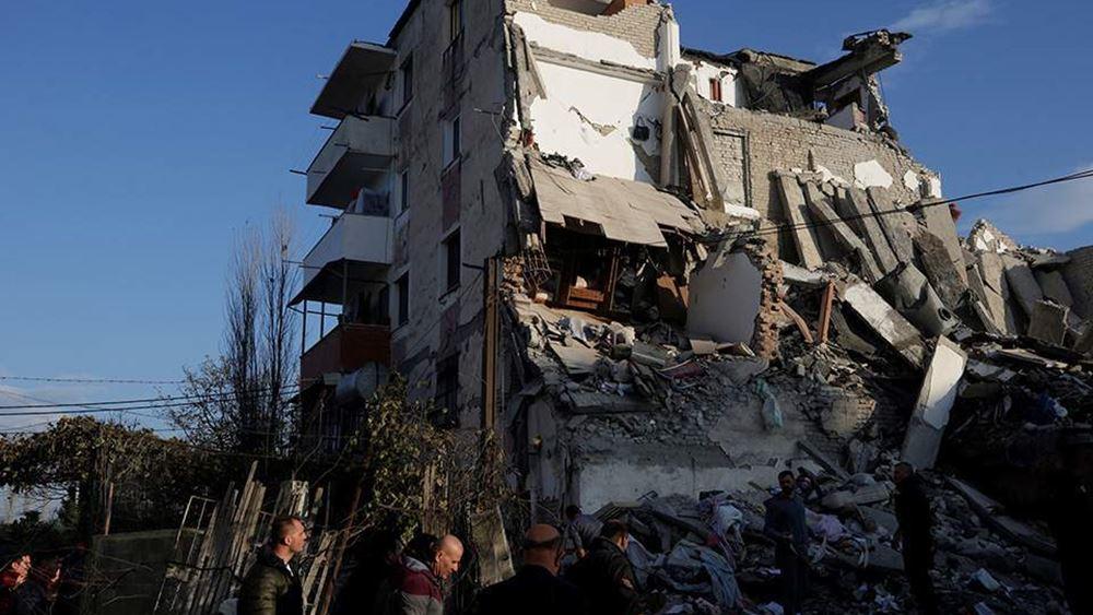 Αλβανία: Τους 40 έφτασαν οι νεκροί του σεισμού