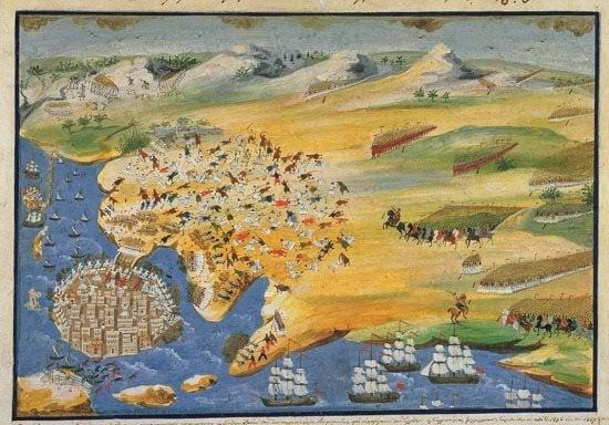 Ο υδραϊκός στόλος εφοδιάζει με μαχητές το Μεσολόγγι!