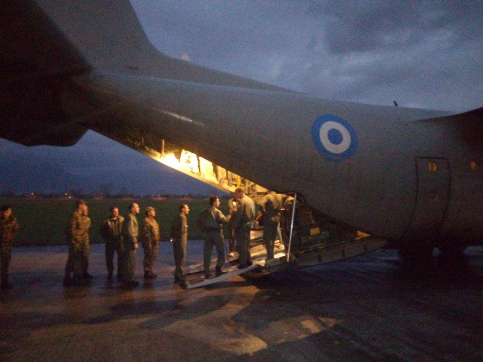 Μαγειρεία του Ελληνικού Στρατού στο Δυρράχιο (ΦΩΤΟ)