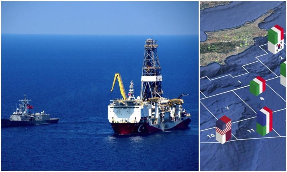 Εξελίξεις στην Κυπριακή ΑΟΖ: Οπισθοχώρηση ENI-Total μπροστά στις τουρκικές προκλήσεις