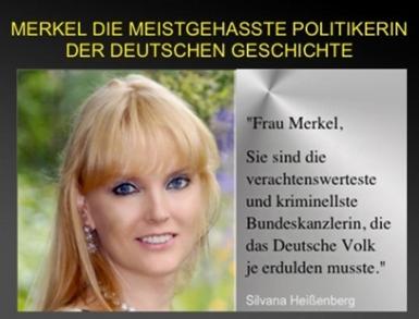 Γερμανίδα Ηθοποιός Περιλούζει την Μέρκελ και την κατηγορεί για Εθνική Προδοσία με Ανοικτή Επιστολή της: «Η Θέση σου Είναι στη Φυλακή»