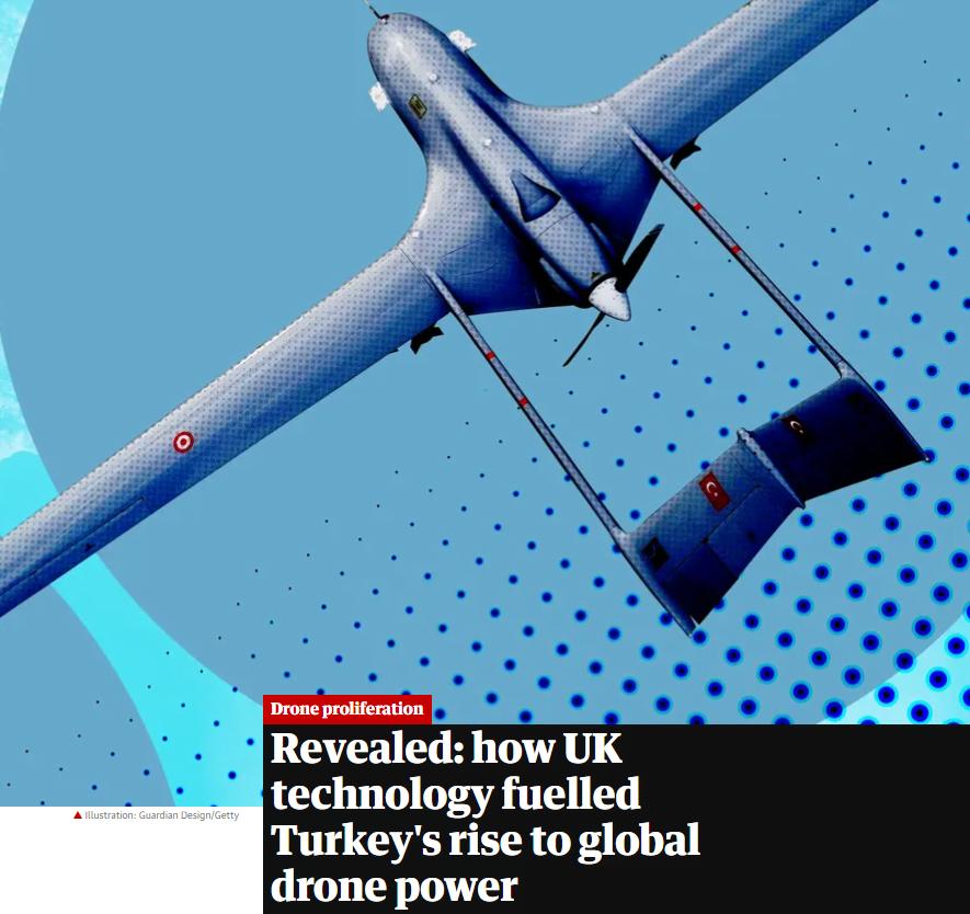 Guardian: Πώς η Βρετανία «έκανε» την Τουρκία υπερδύναμη στα drones