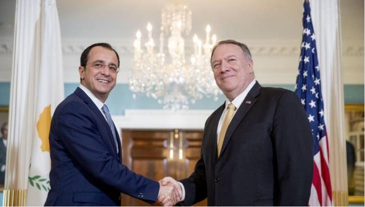 Κύπρος – ΗΠΑ θέλουν κατάργηση εμπάργκο για όπλα και βίζα