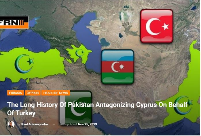 The Long History Of Pakistan Antagonizing Cyprus On Behalf Of Turkey