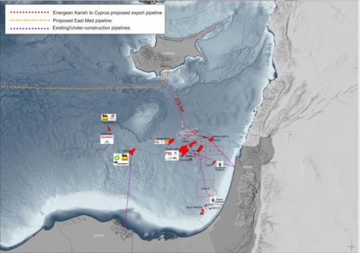 Energean: Με ορίζοντα το 2021 προμήθεια φ/α από κοίτασμα της ισραηλινής ΑΟΖ στην Κύπρο