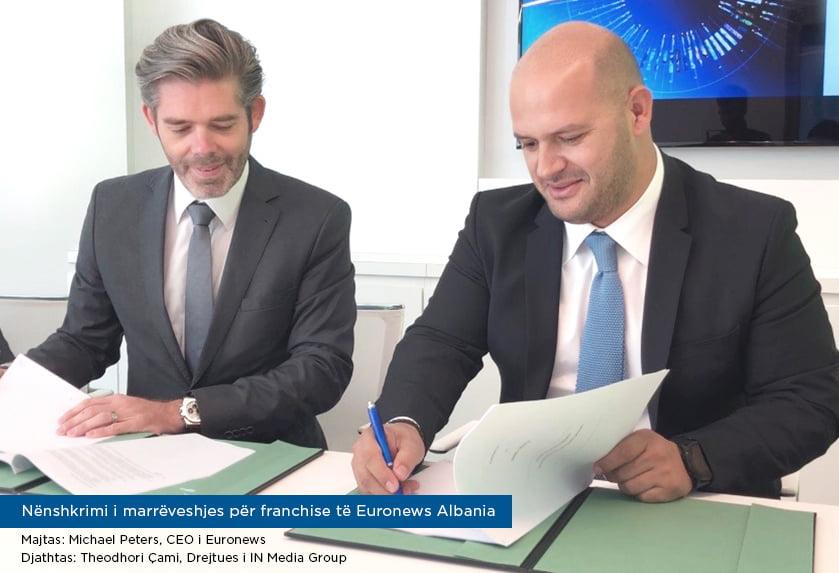 Στα χέρια του Βορειοηπειρώτη Θοδωρή Τσάμη το Euronews Albania