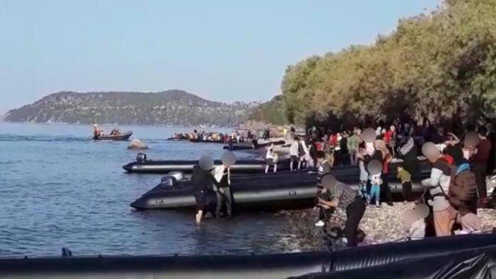 Συνεχίζεται η «απόβαση» στο Β. Αιγαίο: Πάνω από 2.700 πρόσφυγες και μετανάστες σε μια εβδομάδα