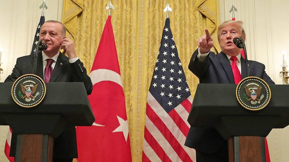 «Παζάρι» Τραμπ-Ερντογάν για F-35, S-400 και Patriot