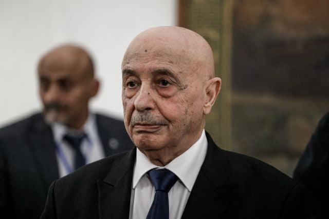 Πρόεδρος λιβυκής Βουλής : Να αποσυρθεί η διεθνής αναγνώριση της κυβέρνησης Σαράτζ