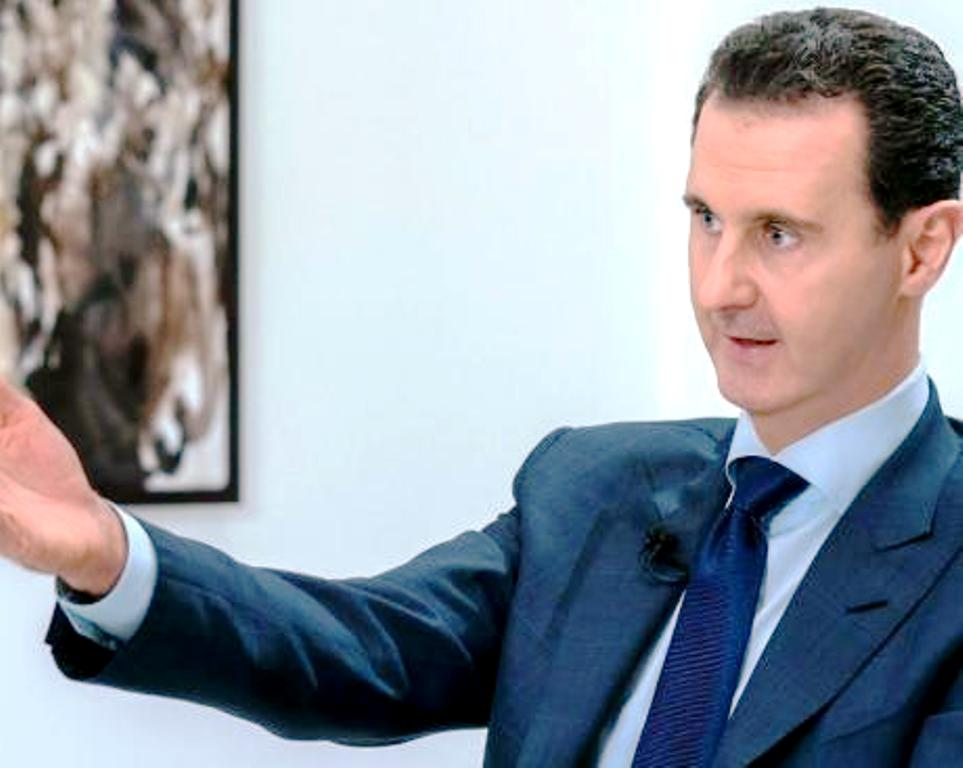 Οι Ηνωμένες Πολιτείες οφείλουν την ελευθερία τους σε έναν μόνο άνθρωπο, τον Μπασάρ αλ-Άσαντ