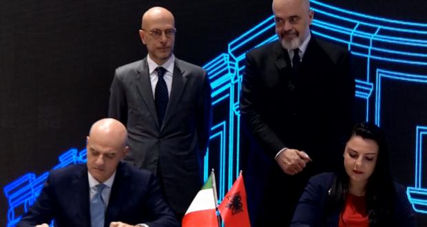 Η Αλβανία υπέγραψε συμφωνία με την Ιταλία για την εξερεύνηση υδρογονανθράκων