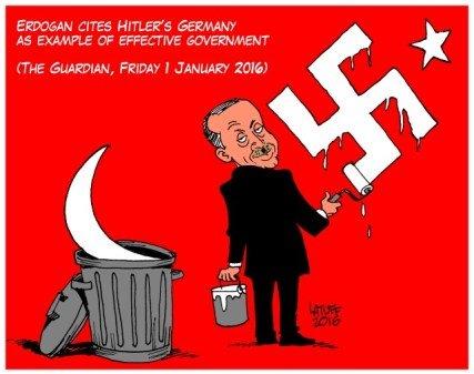 Όσο μεγαλύτερο το ψέμα του Ερντογάν…
