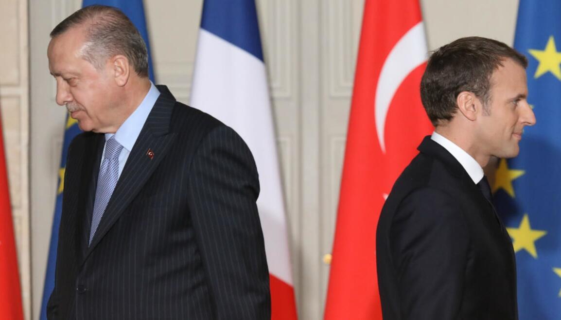 Ο Ερντογάν  Μονομάχος του ΝΑΤΟ Εναντίον Μακρόν