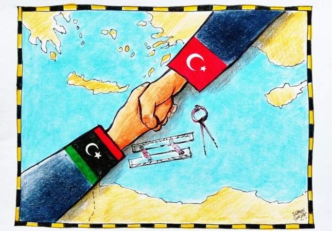 Παράνομη η συμφωνία Τουρκίας-Λιβύης. Ε και;