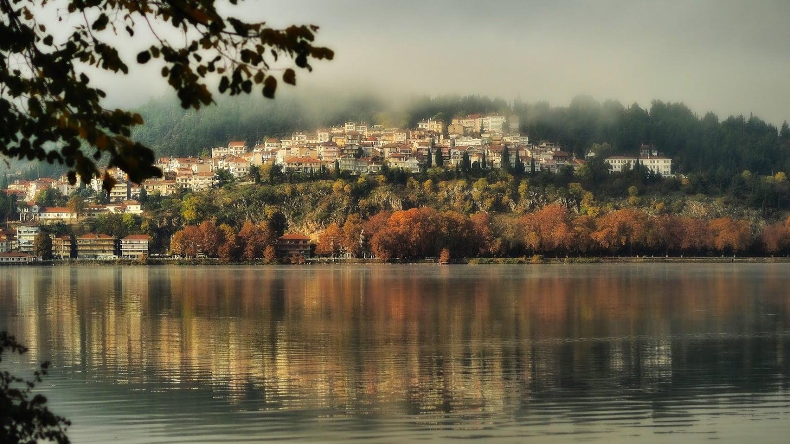Φθινοπωρινή πανδαισία χρωμάτων στην Καστοριά (ΒΙΝΤΕΟ+ΦΩΤΟ)