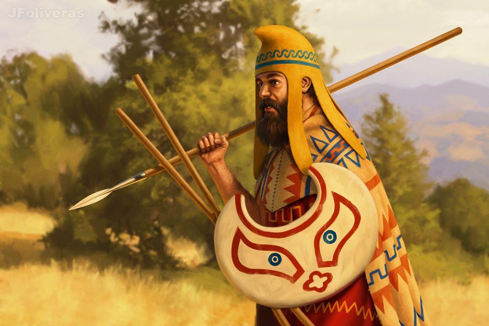 Οι Θράκες πελταστές στον περσικό στρατό!