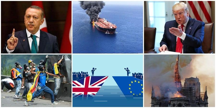 Απολογισμός 2019: Οι ισορροπίες του τρόμου, οι καταστροφές και ο «αδηφάγος» Ερντογάν