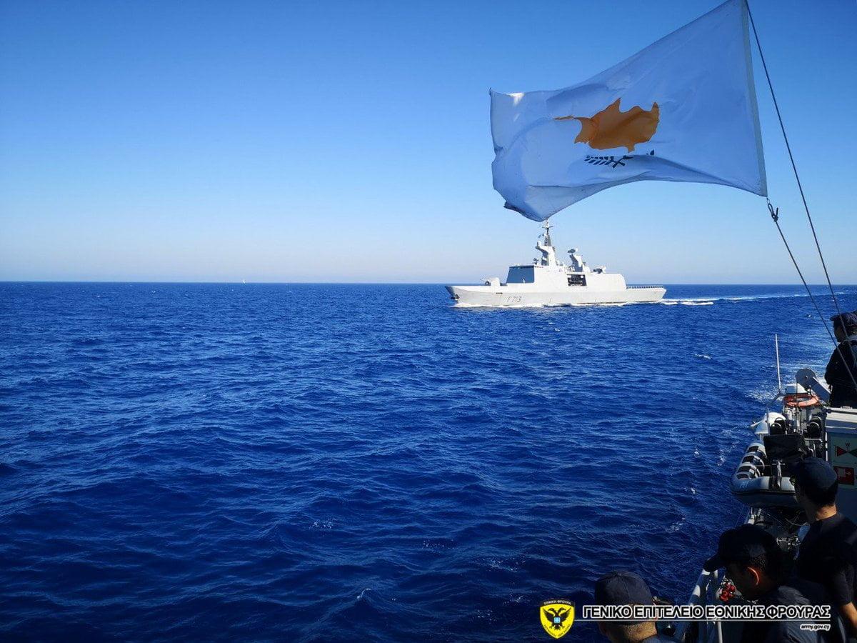 Τριμερής ναυτική άσκηση Κύπρου, Γαλλίας και Ιταλίας