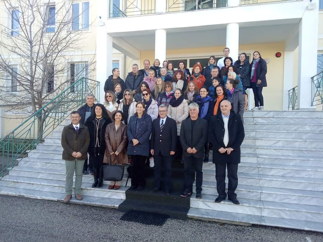 Επίσκεψη της Ελληνίδας Πρέσβεως στα εκπαιδευτήρια ΟΜΗΡΟΣ Κορυτσάς
