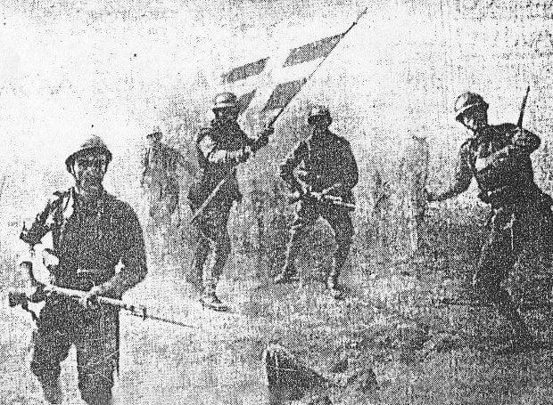6 Δεκεμβρίου 1940: O ελληνικός στρατός καταλαμβάνει τους Αγίους Σαράντα