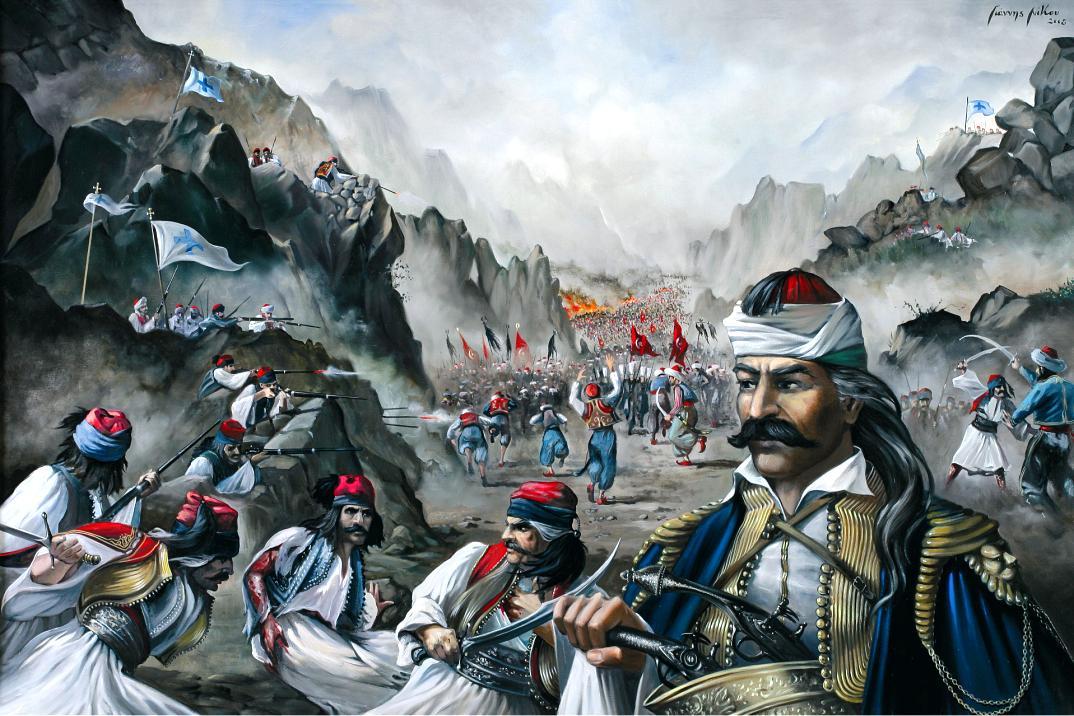 """Στρατηγός και στις προκλήσεις! Η """"χυλόπιτα"""" του Κολοκοτρώνη στον Ιμπραήμ"""