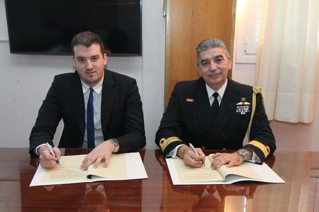 Υπογραφή Μνημονίου μεταξύ Πολεμικού Ναυτικού και εταιρείας Tensor Technologies IKE