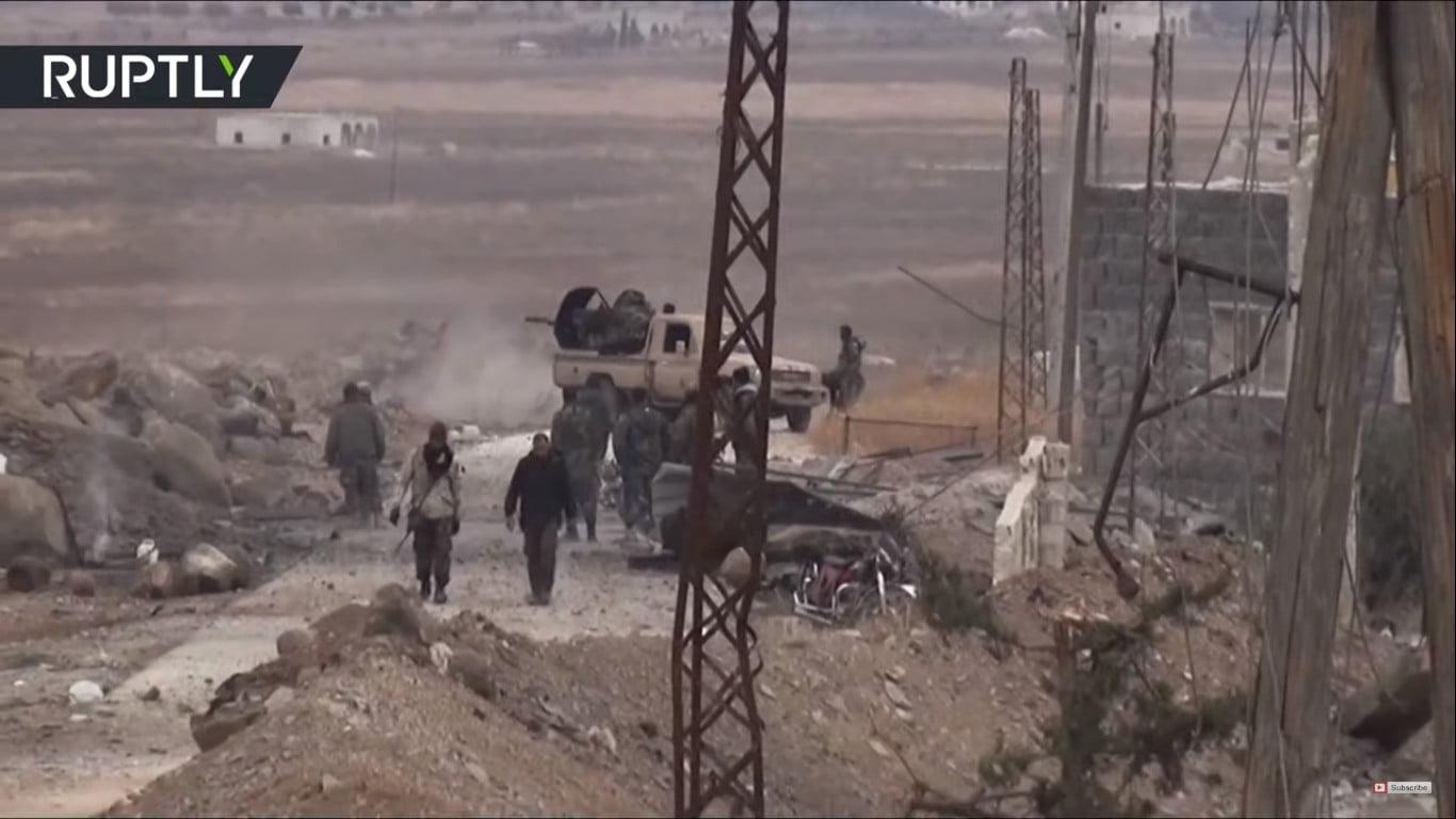 Οι μάχες των πολιτοφυλακών και του συριακού στρατού στο Ιντλίμπ