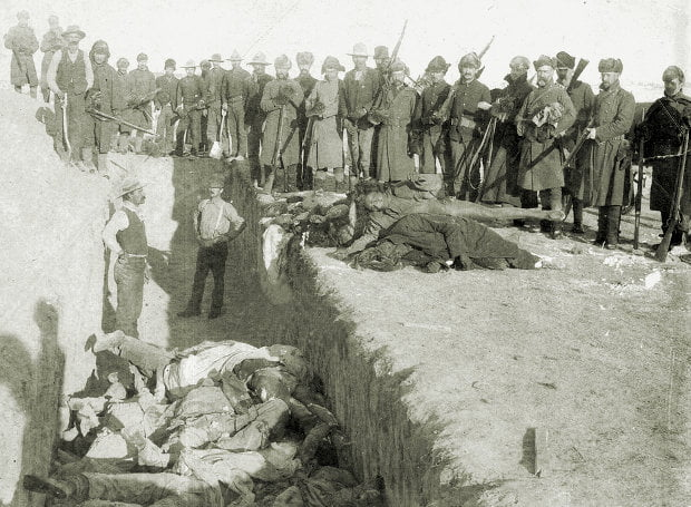 Η σφαγή στο Γούντεντ Νι που τραγούδησε ο μεγάλος Τζόνι Κας! (vid)
