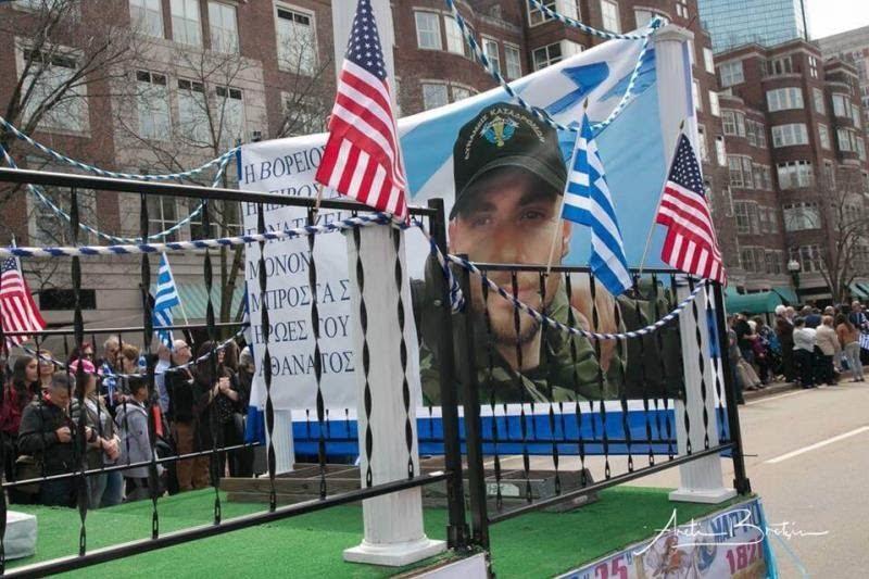 Μεγαλειώδης παρέλαση των Βορειοηπειρωτών στην Βοστώνη, τίμησαν τον Κωνσταντίνο Κατσίφα (vid)