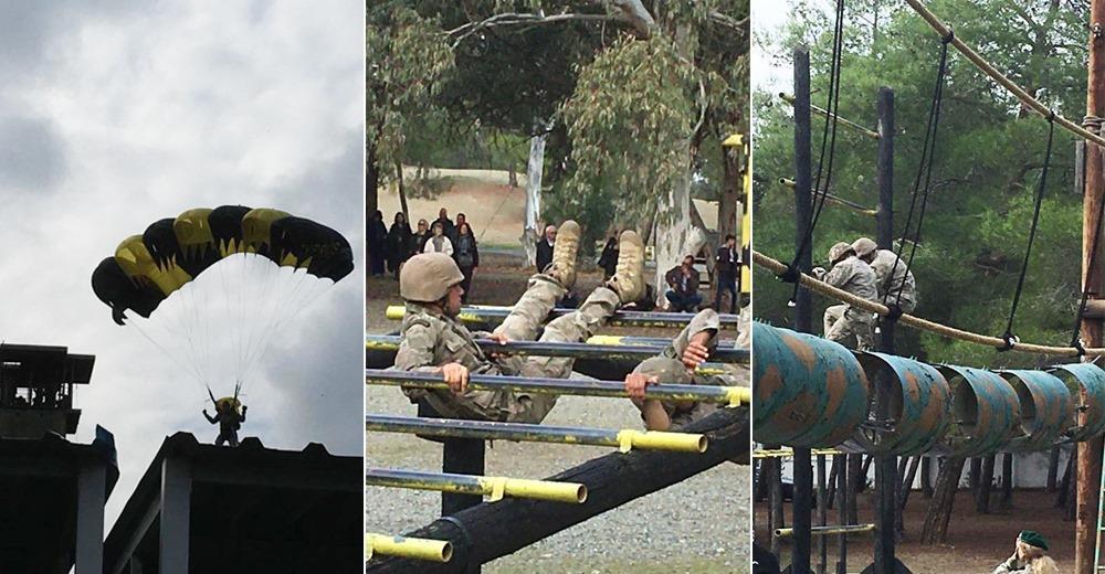 Ο τολμών νικά! Εντυπωσιακή επίδειξη από τους καταδρομείς της Εθνικής Φρουράς (vids+pics)