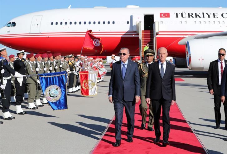 Όσα συζήτησε στην Τυνησία ο Ερντογάν