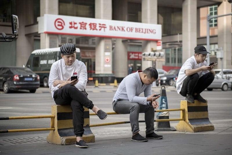 Face control στις κινεζικές τηλεπικοινωνίες