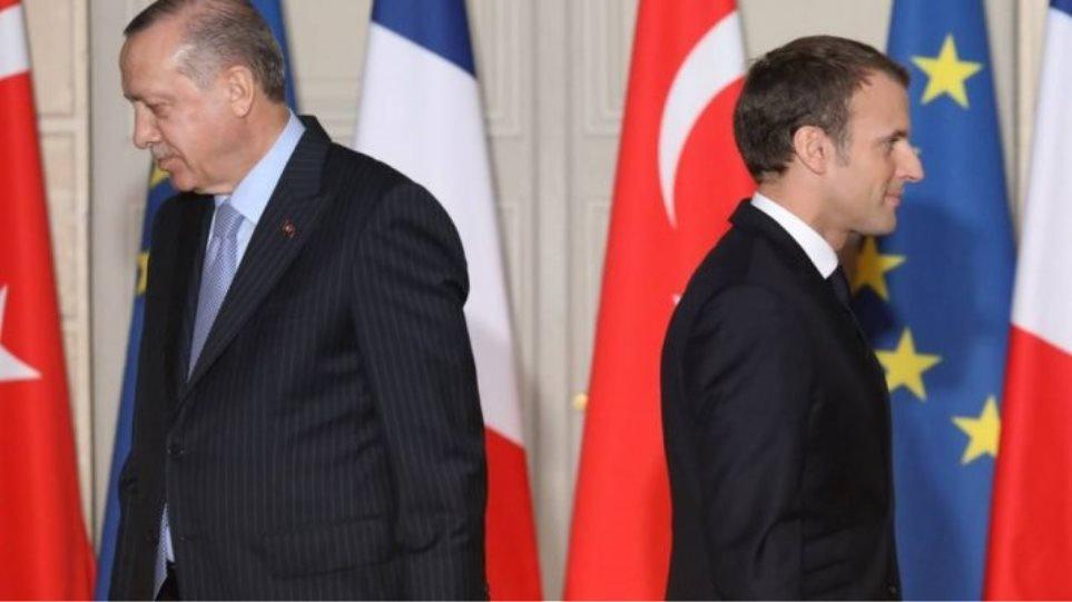 Μακρόν σε Ερντογάν: «Να σεβαστείς τα κυριαρχικά δικαιώματα της Ελλάδας»