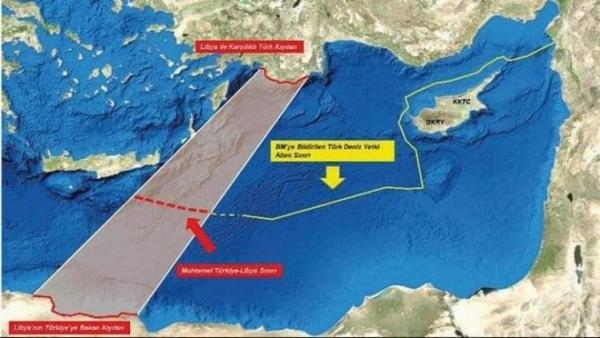 Ρίχνει λάδι στη φωτιά η Τουρκία με νέα ανακοίνωση: «Εξαφανίζει» το Καστελόριζο – «Σβήνει» ελληνικά νησιά από τον χάρτη