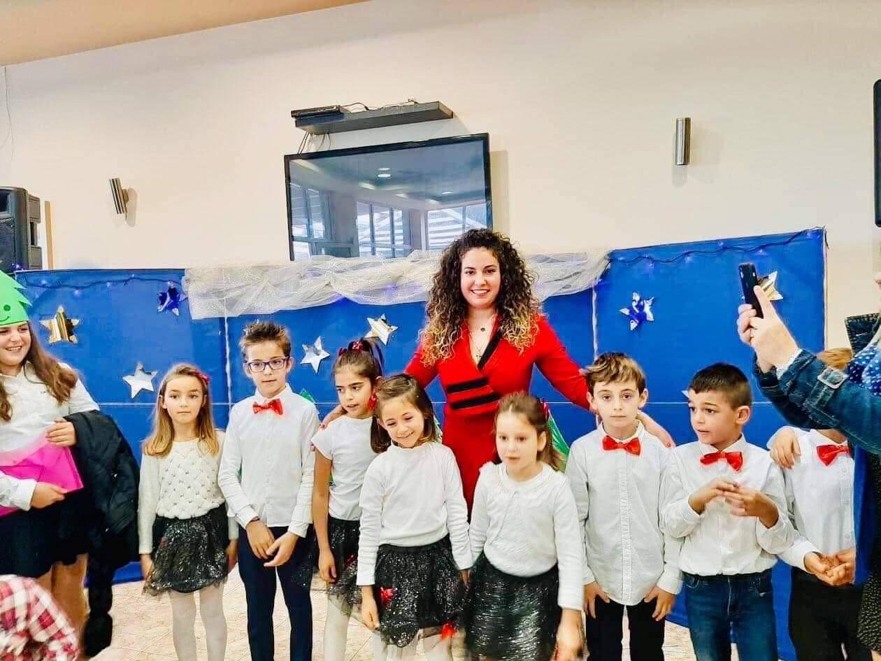 Η Χριστουγεννιάτικη γιορτή του σχολείου Όμηρος Χιμαρας