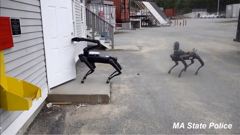 Transformers more than meets the eye! – Spot: Η αστυνομία της Μασαχουσέτης δοκιμάζει ήδη το ρομπότ – σκύλο